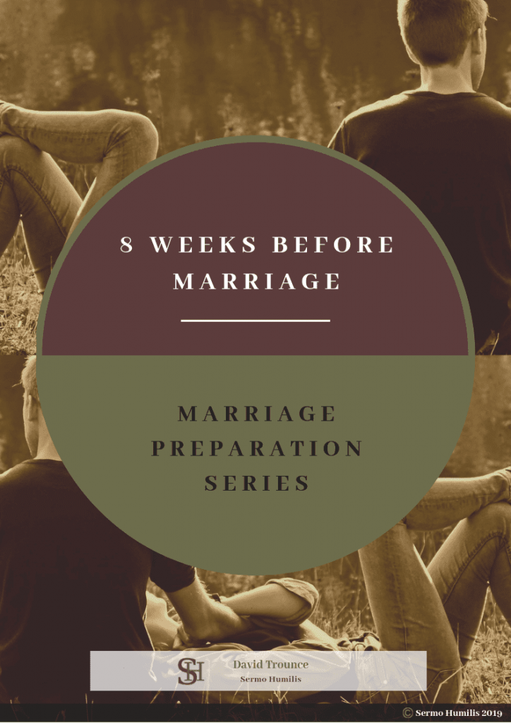 eBook 8 Week Marriage Preparation Series