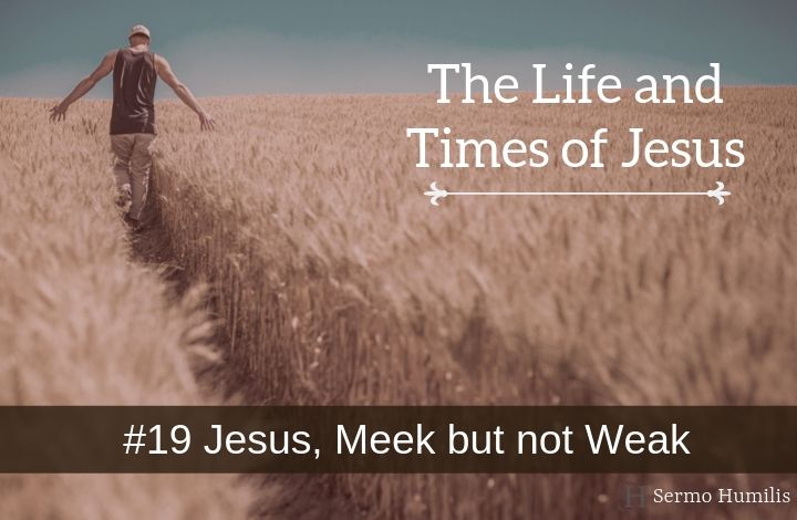 19 Jesus, Meek but not Weak - The Life and Times of Jesus