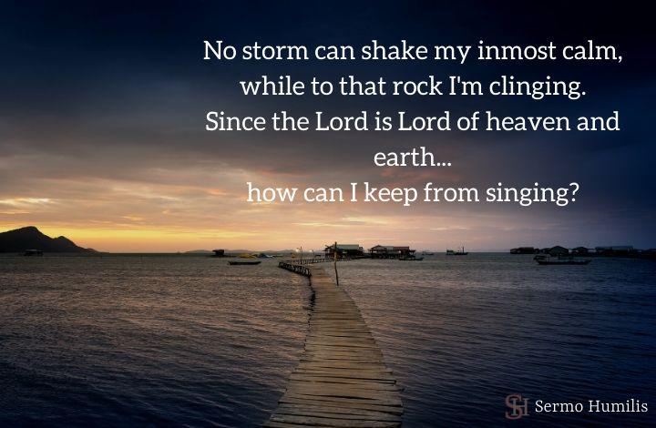 No Storm Can Shake - Sermo Humilis