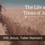 Jesus, Table Manners